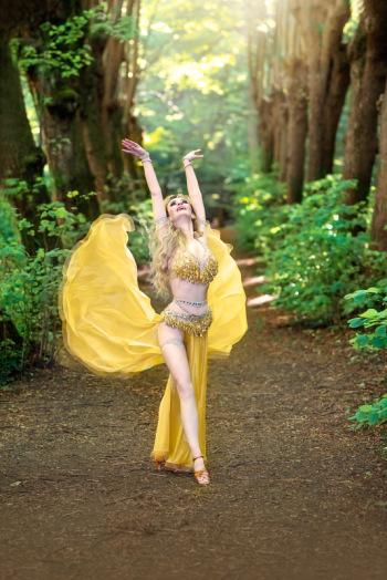 Taniec Brzucha, tancerka z Dubaju! v.mistrzyni Belly Dance World Cup!, Pokaz tańca na weselu Witkowo