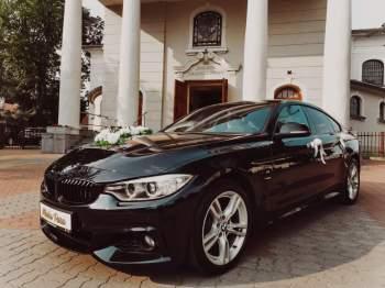 Piękne BMW 4 Gran Cupe do ŚLUBU!, Samochód, auto do ślubu, limuzyna Kruszwica