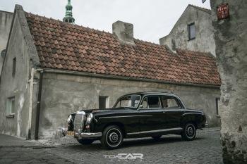 Zabytkowy Mercedes dla Wyjątkowej Pary, Samochód, auto do ślubu, limuzyna Jutrosin