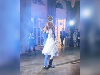 Alesya Surova pierwszy taniec,  Warszawa