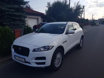 Jaguar F-Pace Biały, Samochód, auto do ślubu, limuzyna Luboń