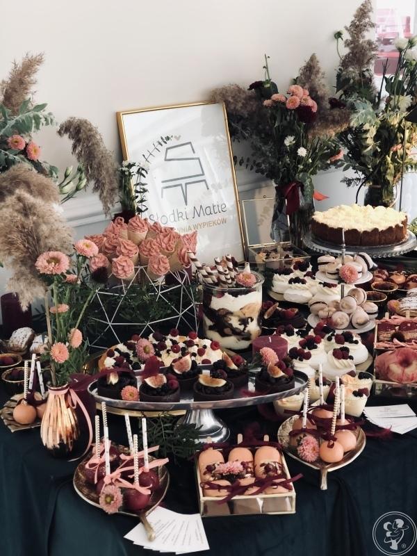 Słodki Matie - słodki stół na Twoje wesele, słodki bufet, tort weselny, Bielsko Biała - zdjęcie 1
