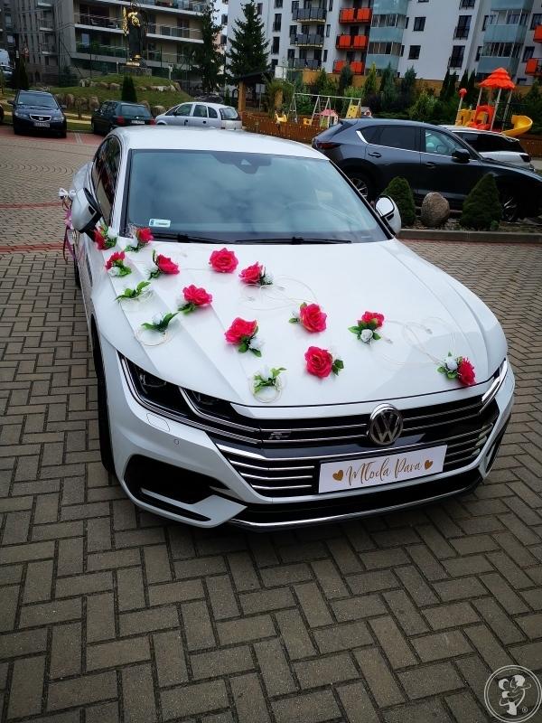 Auto do ślubu - Perłowy Volkswagen Arteon R Line, Białystok - zdjęcie 1