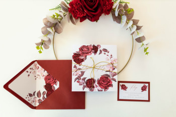 Luna Art Studio - Personalizowane Zaproszenia oraz papeteria ślubna, Zaproszenia ślubne Staszów