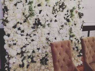 Ścianka kwiatowa - FlowerDesign,  Tarnów