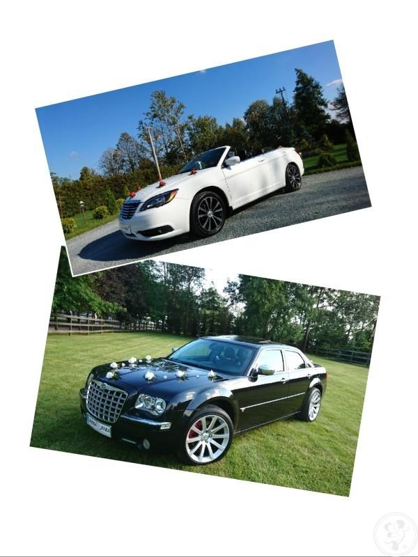 Chrysler 300C Limuzyna i 200S CABRIO Kabriolet Auto Samochód do Ślubu, Żyrardów - zdjęcie 1