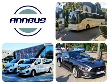 ANNBUS - komfortowy transport gości weselnych, Wynajem busów Słomniki
