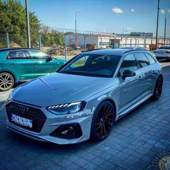 Najnowsze Audi RS4 2020  z kierowcą caly kraj, Samochód, auto do ślubu, limuzyna Łosice