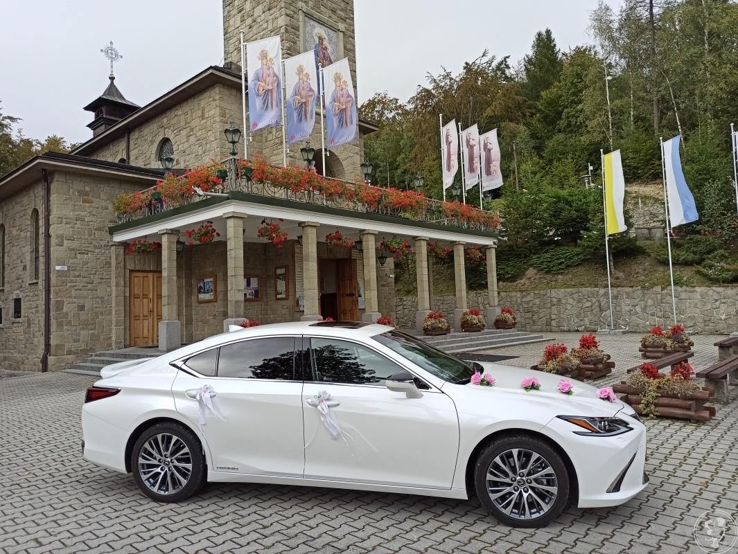 Lexus ES300 Hybrid 218 KM. Biała Perła do Ślubu, Dąbrowa Górnicza - zdjęcie 1