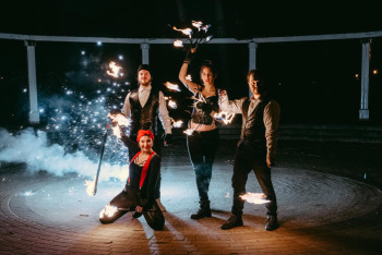 Teatr Ognia TARO. Profesjonalne pokazy fireshow!, Teatr ognia Starogard Gdański