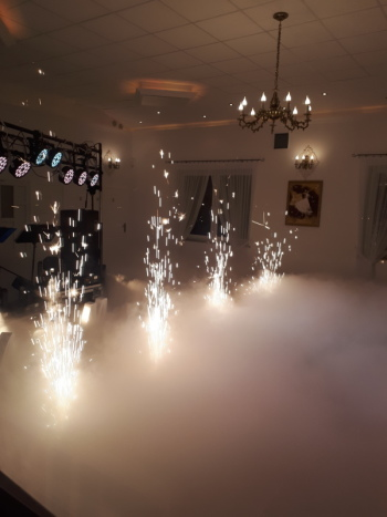 Kuźnia wesel - ciężki dym, fontanny iskier, Ciężki dym Sępólno Krajeńskie