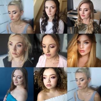 Linah Makeup makijaż ślubny i okazjonalny z dojazdem, Makijaż ślubny, uroda Głogów