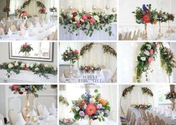 Dekoracje ślubne, dekoracja kościoła, sali, wynajem ścianek, bukiety, Dekoracje ślubne Łabiszyn