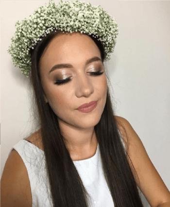 Weronika Wrońska makijażystka ślubna, Makijaż ślubny, uroda Zgierz