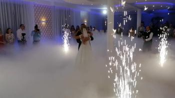 Taniec w chmurach,CIĘŻKI DYM, fontanna ISKIER, fotobudka, Ciężki dym Busko-Zdrój