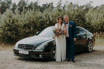 Mercedes CLS 55 AMG do Ślubu, Samochód, auto do ślubu, limuzyna Tyczyn