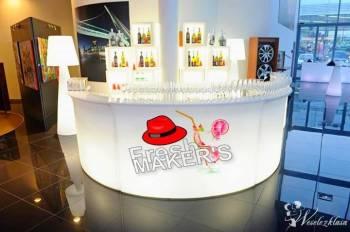 Fresh Makers - bar na wesele,ekobufet, bar weselny, Pokaz barmański na weselu Józefów