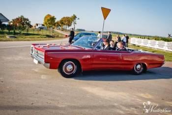 Kabriolet 6 osobowy Sportowe różowe coupe limuzyna, Samochód, auto do ślubu, limuzyna Szczuczyn