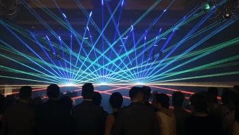 PROFESJONALNY POKAZ LASERÓW NA WESELU, EFEKTY SPECJALNE., Pokazy laserowe Dziwnów