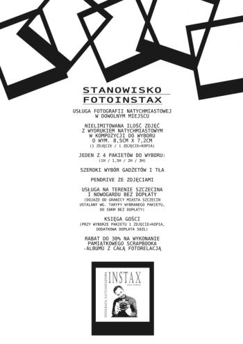 fotografia natychmiastowa instax - złap chwilę, Fotobudka, videobudka na wesele Chociwel