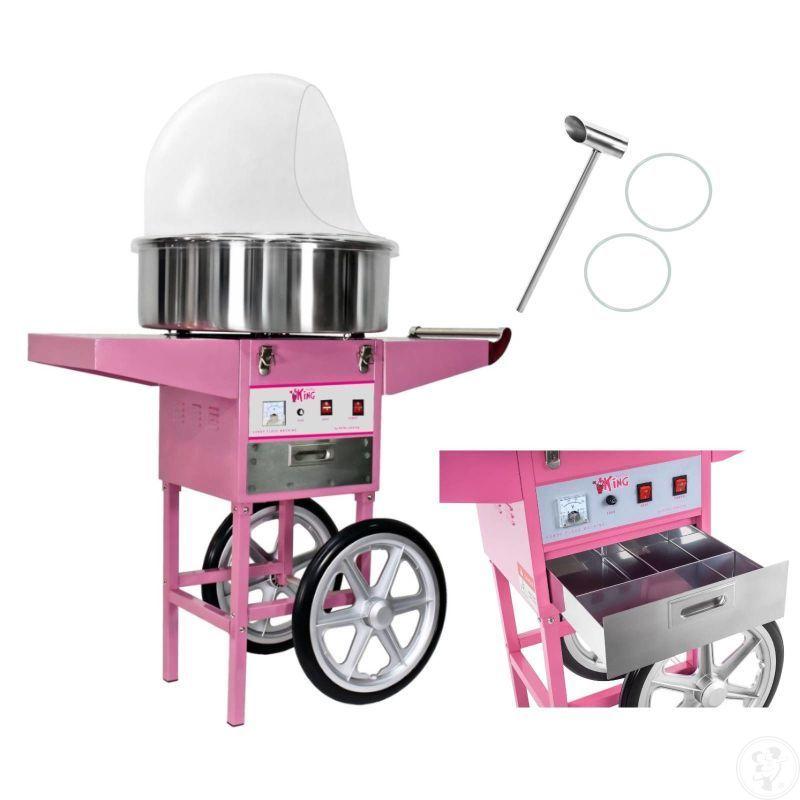 Maszyna do waty cukrowej /maszyna do popcornu, Koziegłowy - zdjęcie 1