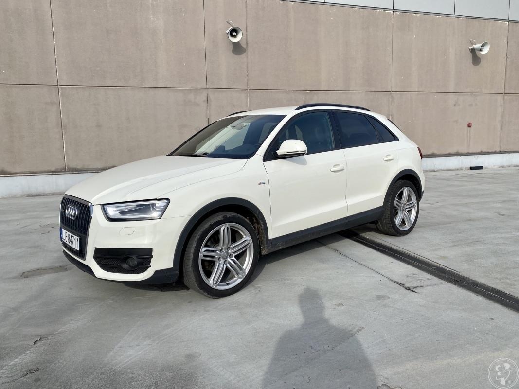 Audi Q3 S-line perłowa biel, Lublin - zdjęcie 1