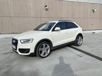 Audi Q3 S-line perłowa biel, Samochód, auto do ślubu, limuzyna Kock
