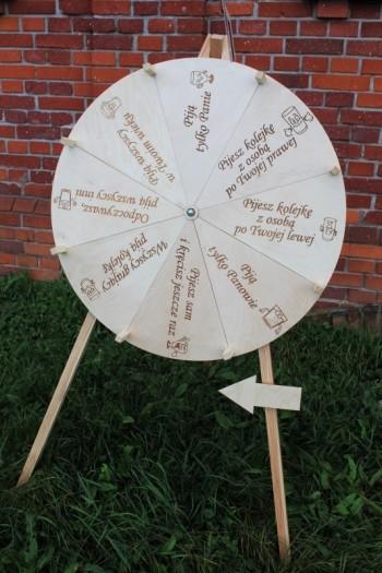 Drewniane koło fortuny - jedyne takie!, Unikatowe atrakcje Uniejów