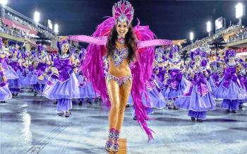 Pokaz Tańca Samba Brazylijska Kashira, Pokaz tańca na weselu Ryn