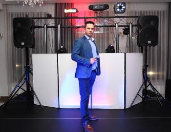 DJ, Lektor, Prezenter, Fotobudka, Barmix, Dekoracja LED, Scena,, DJ na wesele Tyszowce