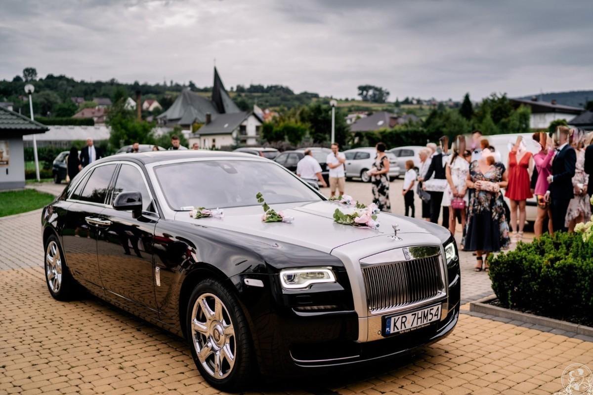Luksusowym Rolls Royce do ślubu oraz Mercedesy V-klassa, Skawina - zdjęcie 1