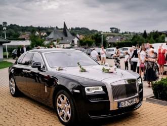 Luksusowym Rolls Royce do ślubu oraz Mercedesy V-klassa,  Skawina