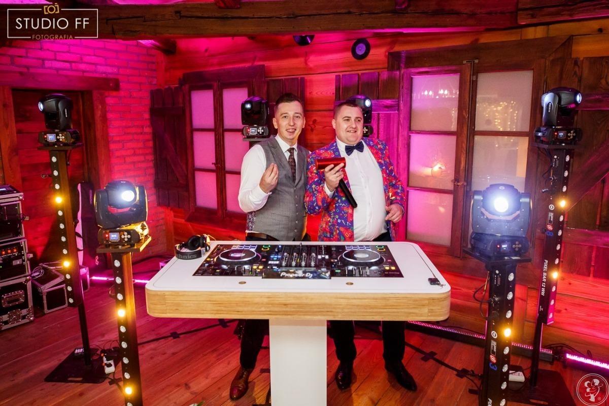 Pogotowie Muzyczne - DJ + Wodzirej na wesele, Dekoracja światłem, Firlej - zdjęcie 1