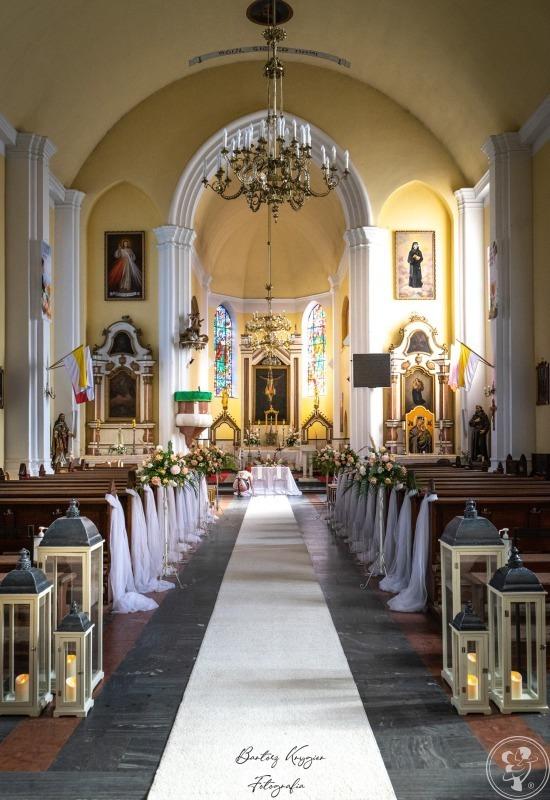 DEKORACJE KOŚCIOŁÓW, SAL I SAMOCHODÓW NA ŚLUB, CHRZEST, OSIEMNASTKĘ, Krośniewice - zdjęcie 1