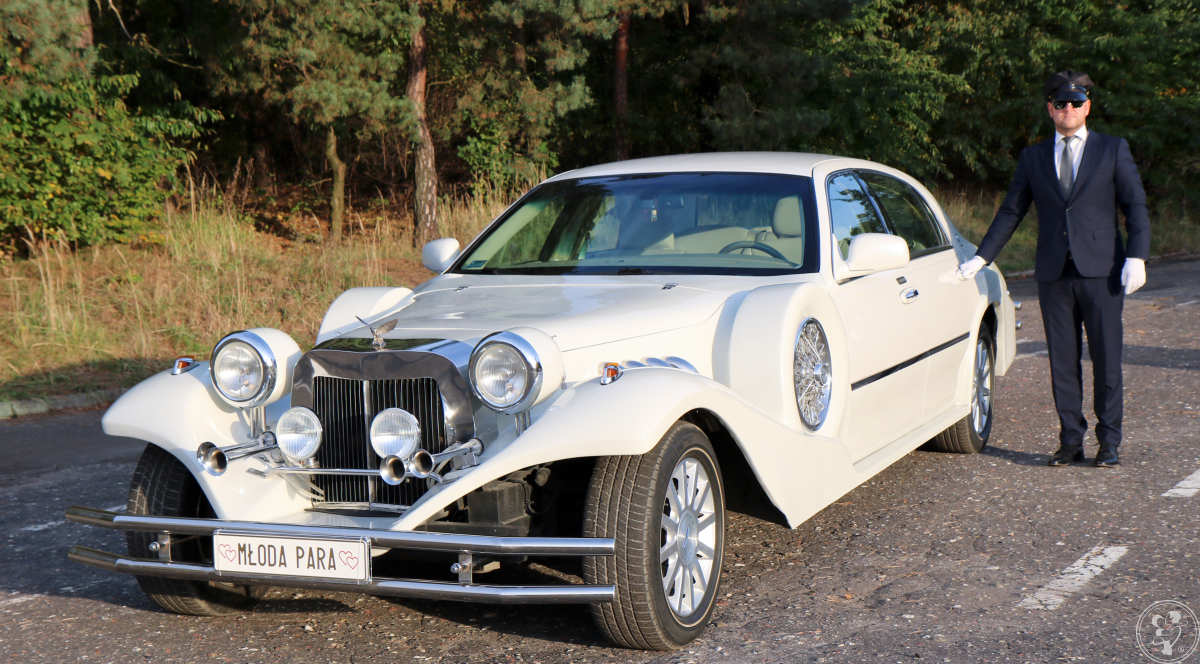 Perłowy Lincoln Excalibur elegancki samochód na ślub w pięknym stylu, Czerwionka-Leszczyny - zdjęcie 1