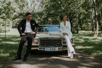 Cadillac Fleetwood - wyjątkowe auto do ślubu, Samochód, auto do ślubu, limuzyna Tarnowskie Góry