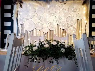 LILAdecor dekoracje ,Taniec w chmurach , napis LOVE dekoracja światłem,  Nowy Bedoń