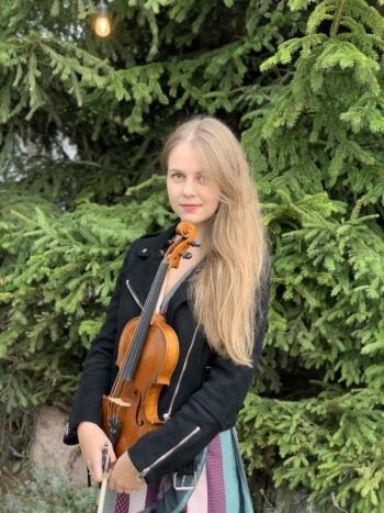 Agata Serafin - skrzypce, Oprawa muzyczna ślubu Skórcz