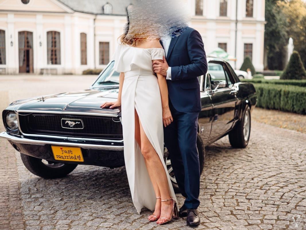 Zabytkowy klasyczny Ford Mustang do ślubu - Ty prowadzisz!, Żory - zdjęcie 1