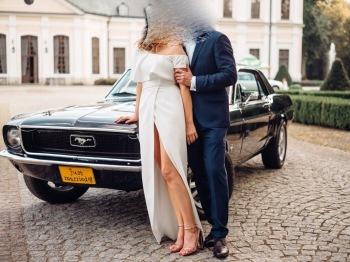 Zabytkowy klasyczny Ford Mustang do ślubu - Ty prowadzisz!, Samochód, auto do ślubu, limuzyna Łaziska Górne
