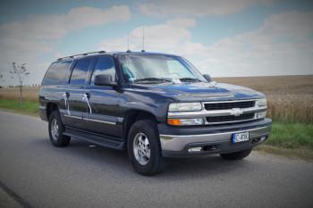 Chevrolet Suburban, samochód amerykańskich prezydentów, Samochód, auto do ślubu, limuzyna Chełmno