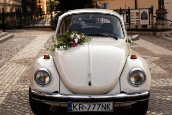 AUTO DO ŚLUBU GARBUS ORAZ FOTOGRAFIA ŚLUBNA, Samochód, auto do ślubu, limuzyna Żabno