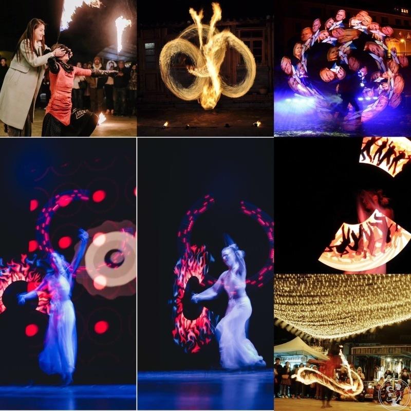 Taniec z ogniem !  -  ANI  PELU  FIRESHOW - Pokazy lightshow - Teatr, Kraków - zdjęcie 1