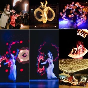 Taniec z ogniem !  -  ANI  PELU  FIRESHOW - Pokazy lightshow - Teatr, Teatr ognia Szczawnica