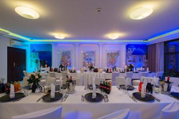 Hotel Restauracja Santorini, Sale weselne Kraków