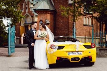 Lamborghini Huracan auto do ślubu ! Bentley, Porsche, Mercedes ,, Samochód, auto do ślubu, limuzyna Skała