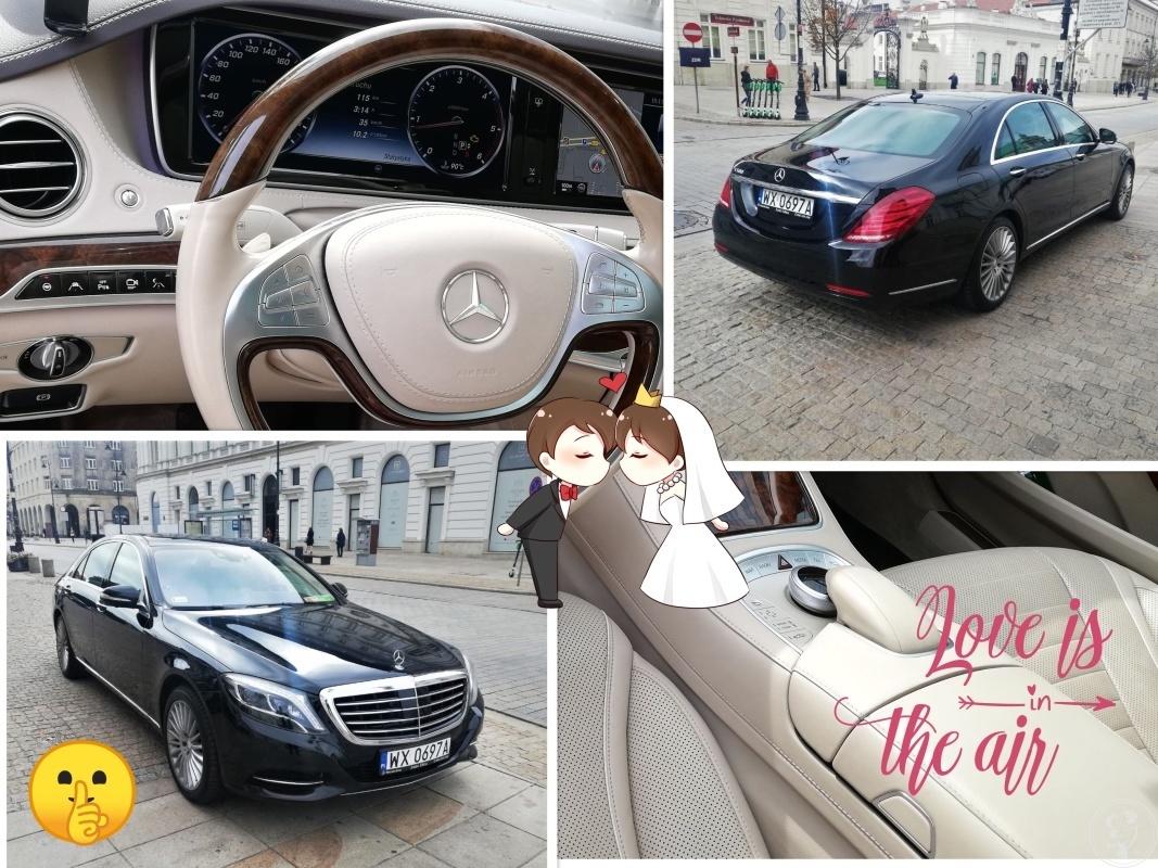 Mercedes S-class 222, Bentley S1 i inne luksusowe limuzyny do ślubu, Warszawa - zdjęcie 1