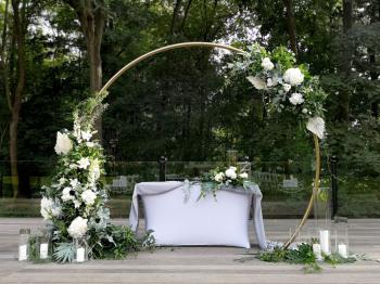 Pracownia ArtMoss florystyka i kompleksowe dekoracje, Dekoracje ślubne Złoty Stok