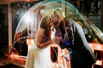 Artystyczny pokaz baniek mydlanych Bubbles & ART, Balony, bańki mydlane Głuszyca
