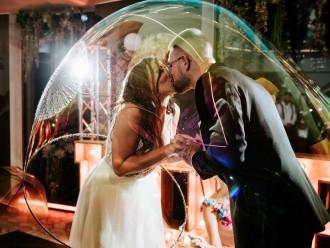 Artystyczny pokaz baniek mydlanych Bubbles & ART, Balony, bańki mydlane Konin